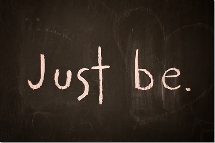 just-be